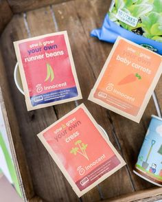 Delighted to be joining in with #sowandgrowuk this year - a project with @innocent and Grow It Yourself to encourage youngsters to learn how to grown their own food from seed and eat it! We're growing our own at own Follow our progress and read all about it #ontheblog - link in profile #ad #growyourown #growyourownfood #seeds #seedplanting #plantingseeds #vegetablegarden #potting #renplants #ambassador #innocent