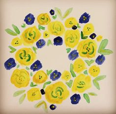 Day 75 of the 100 Day Project #water #color #colour #flowers