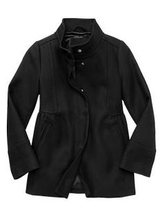 Mod coat (people said black isn't good for little girls, it's a cultural thing I guess.  What?! but it's SO CUTE!)