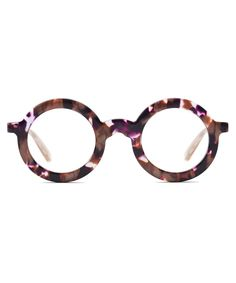 With its complete acetate construction, standout patterns and ultra-round shape, Hurst is our everyday, statement optical frame made for the playful eclectic. Funky Glasses, Glasses Frames, Glasses Style, Strawberry Blonde Hair Color, Heart Glasses, Fashion Eye Glasses, Clean Microfiber, Designer Eyeglasses, Optical Frames