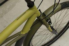 detalhe da bicicleta, itsu