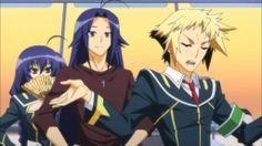 Medaka Box Girls | Medaka Box Abnormal 2 – Booby Slippers | Sunny Side Anime Blog!