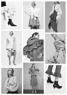 MySelf Expressed: Inspiration Board: Bold Ruffle Trend s/s 2017 Inspiration Boards, Blogging, About Me Blog, Ruffle Blouse, Posts, Women, Fashion, Moda, Messages
