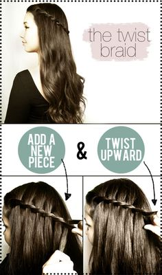 20 Hairstyles- Braids, Ponytails, Buns & More (Easy and Cute) {W-WordPlay} | Craftionary