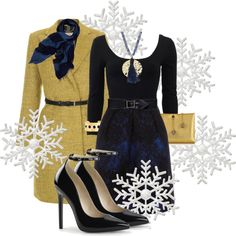 """christmas eve"" by kommunikacio-stilus on Polyvore"