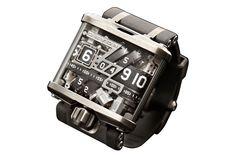 DEVONのアナログデジタル時計。歯車が萌えポイント。
