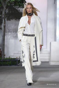 Женская мода: Ralph Lauren, весна-лето 2017