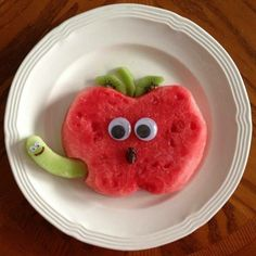 Worm in an apple :)