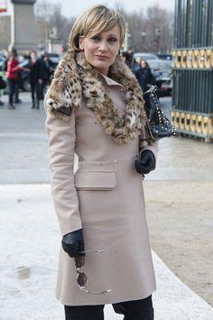 Patricia Kaas Photos Photos - Valentino: Arrivals - Paris Fashion Week Womenswear Fall/Winter 2012 - Zimbio