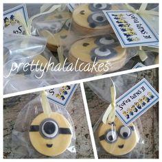 Minion cookies.Party favours ideas.
