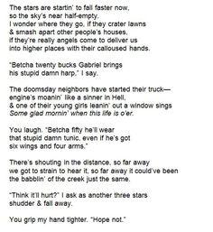 "modernaukeats: "" Rural Boys Watch The Apocalypse (rough draft) by Keaton Michael "":"