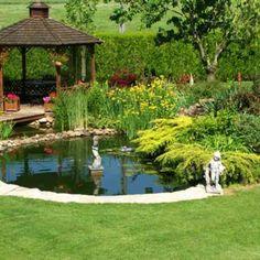 20 Koi Pond Ideas To Create A Unique Garden | Bassin, Marre et Extérieur