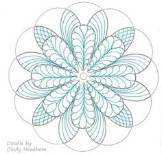 Gorgeous doodling by Cindy Needham using some of the Mandala Templates by Maureen Russell, where 100% of the proceeds from purchase benefit the Cystic Fibrosis Foundation.  Plus, if you purchase these templates this month you get entered to win prizes in the Charity Fundraiser I'm hosting.  Click thru for more info or email me.