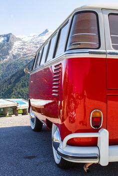 Red VW Bus :]