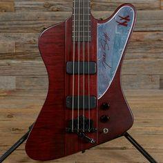 Gibson Nikki Sixx Thunderbird Bass Satin Red 2008 (s301)