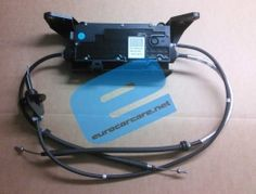 ELECTRIC HANDBRAKE MECHANISM TO SUIT:  RENAULT GRAND SCENIC Mk2 to 05/07  COMPATIBLE NUMBERS: 360101216R