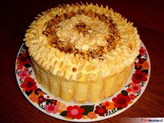 Receta fácil y de lujo: Torta Pompadour Otra versión con galletas de champaña.