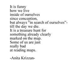 Anita Krizzan~Loving her writing.