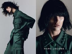 Anja Rubik by David Sims for Marc Jacobs S/S 2015 Campaign