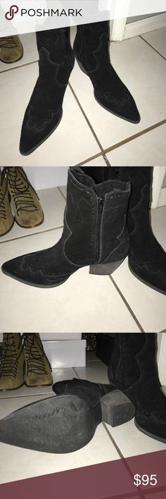 Brand new without box Suede Matisse booties New never worn, just have too many black booties and I've never had the chance to wear these.  They are so comfortable. Accepting most offers if reasonable!! Matisse Shoes Ankle Boots & Booties