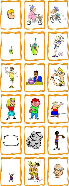 Tons of free ESL/ELD flashcards! The clip art would also ...