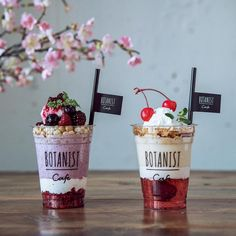 Food Graphic Design, Food Design, Korean Cafe, Brew Bar, Bakery Interior, My Coffee Shop, Healthy Bars, Frozen Cocktails, Milkshake Recipes
