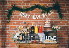 Re-pin if family, friends, food & drinks = YOUR best day ever?!  Photo Credit: Coriander Girl.