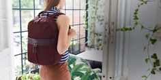 Beauchamp Women's Laptop Backpack - Chestnut | KNOMO