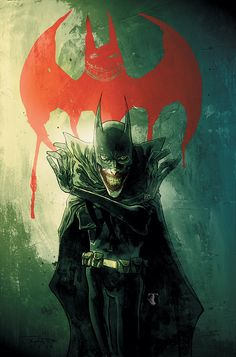 Ben Templesmith's Joker. Wicked.