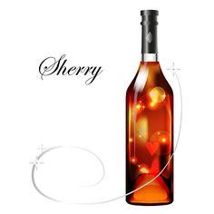 Sherry by Maria Rytova #wine #sherry #alcohol #liquor #sweet #boottle