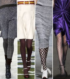 12 Patterned Tights That Will Really Amp Up Your Outfit from InStyle.com