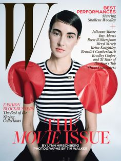 Best Performances February 2015: See All 7 W Magazine Covers - Shailene Woodley