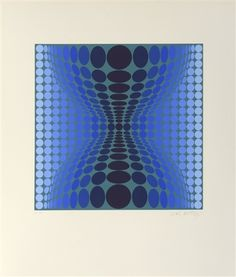 Forme Evolutive by Victor Vasarely