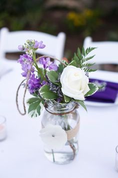 Purple Vintage Wedding Ideas brought to you by San Diego event designers Couture Events.