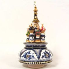 Church on the Spilled Blood Russian mucial box