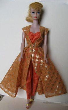 Ponytail Barbie In 'Dinner At Eight' - 1962-1963