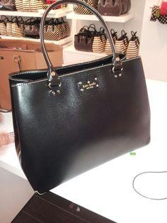 Kate spade black purse @ San Maracos Premium Outlets