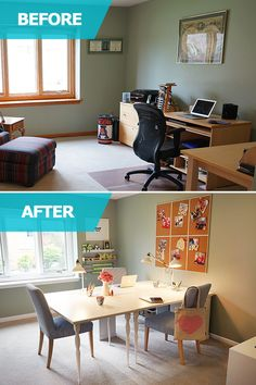 In The Ikea Home Tour S Home Office Makeover Melissa And Her Family Lacked The Space