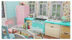 Davy Jones' Locker, Sims 4 House Design, Sims 4 Build, Sims 4 Houses, Starter Home, Lockers, Beach House, Nerd, Vanity