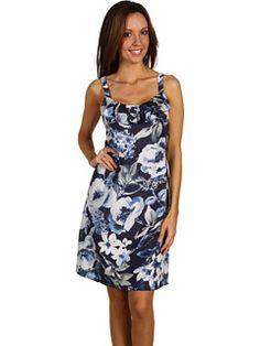 Tommy Bahama - Maritimo Floral Dress (Ocean Deep) - Apparel, $148.00 | www.findbuy.co/brand/tommy-bahama #TommyBahama