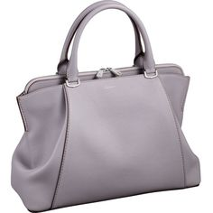 CARTIER C de Cartier leather small tote ($2,285) ❤ liked on Polyvore featuring…