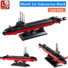 Toys & Hobbies Strong-Willed Sluban 193pcs Nuclear Powered Submarine Army Navy Ballistic Missile Atomic Ssbn Action Figure Lepins Toys For Children A Great Variety Of Goods