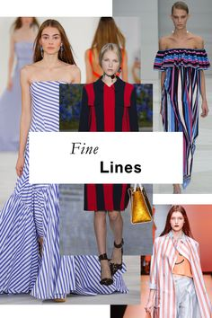 Horizontal or vertical, thick or thin, many-hued or monochromatic, stripes emerged from the fray of Spring prints as a clear victor on catwalks from Dior to Dolce & Gabbana. You'll be hard-pressed to top them in terms of sheer graphic appeal, too.