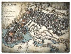 Map of Skullport