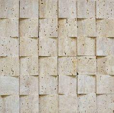 Brogliato Revestimentos - Coleções - 3D Mosaic - D020 Travertino Romano - 30x30cm.