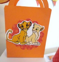 Lion King party favor boxes are perfect for snacks or party favors! $1.25 Available at www.OMGaParty.com