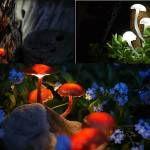 DIY Zahradní osvětlení na zimu |  Udělat Amazing zářící houby