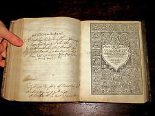 1649 Holy Bible KING JAMES Leather BOOK OF PSALMS Family GENEVA Antique ENGLISH