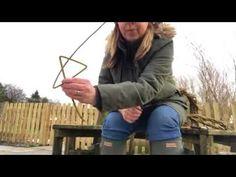 Weaving a willow sheep sculpture Part 1 - YouTube