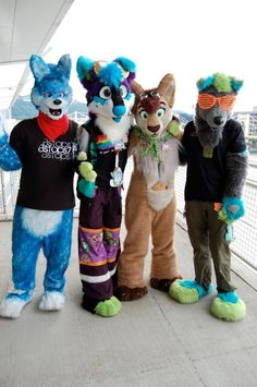 Hot looks from a furry convention